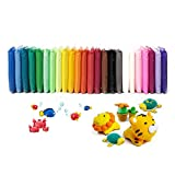 24 Colors Air Dry Clay Magical Kids Clay Ultra