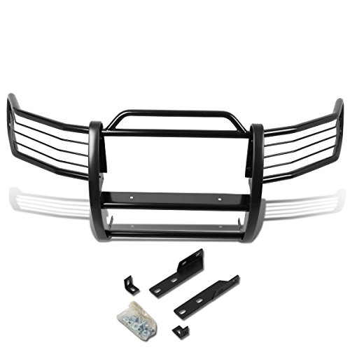 DNA Motoring GRILL-G-027-BK Black Front Bumper Brush Grille Guard [For 97-98 Ford Expedition/F150/F250 ()