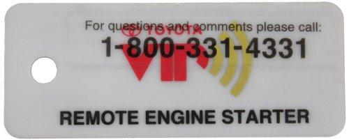 TOYOTA Genuine Accessories 08192-07840 RES Key Tag
