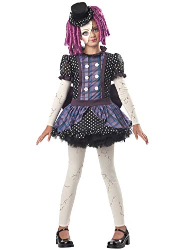 Broken Doll Child Costume, Multicolored, Medium (8-10) ()