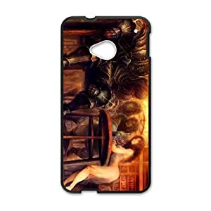 Dragon's Crown HTC One M7 Cell Phone Case Black Customize Toy zhm004-7398417