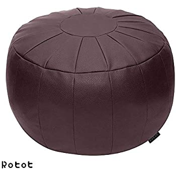 Lob Design Pouf.Amazon Com Premium Handmade Dark Brown Tobacco Poufs