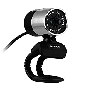Ausdom Full HD Webcam 1080p Widescreen Video Calling and Recording Digital Webcam with Microphone USB Webcam for Desktop or Laptop Webcam