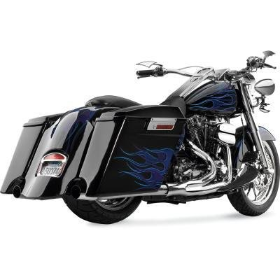 Cycle Visions Extended Rear Fender Cover with Cutouts - Recessed CV7264 by CycleVisions