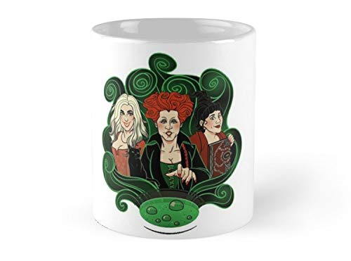 Army Mug sanderson sisters - the halloween sisters of witches movie 2-11oz Mug - Features wraparound prints - Dishwasher safe - Made from Ceramic - Best gift for family friends]()
