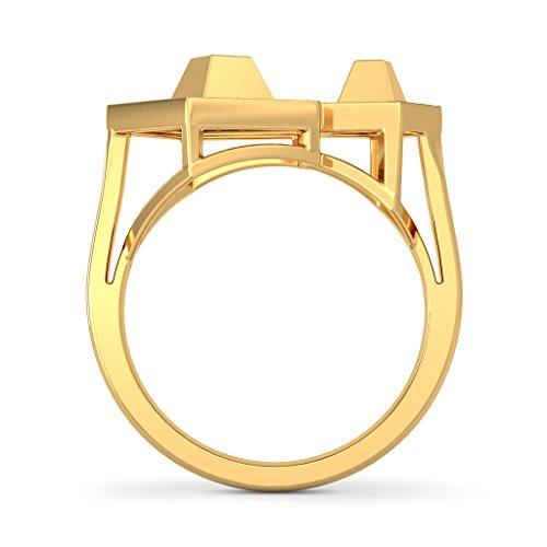 14K Or jaune, 0,19carat Diamant Blanc (IJ | SI) en diamant