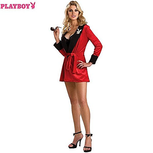 Playboy Sexy Girlfriend Adult Costume - (Plus Size Hugh Hefner Costumes)