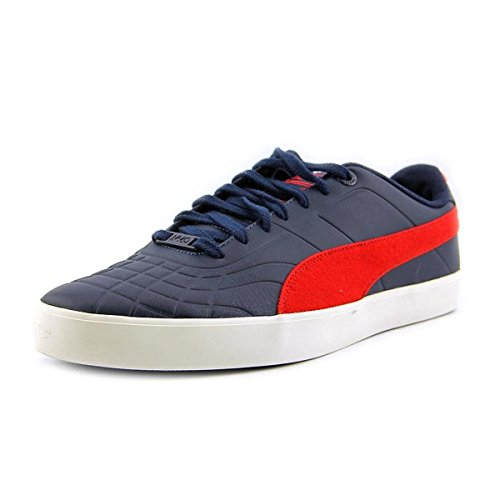 Puma Tech Sala 76 Urbain Équitable Isle Mens Bleu / Rouge Sneakers Robe Blues-tomate