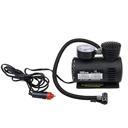GOZAR 12V Auto Bomba Eléctrica Compresor De Aire Portátil Inflador Neumático 300Psi