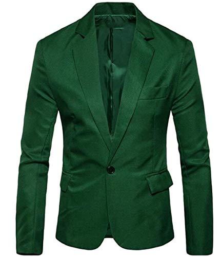 Lunga Cappotto 1 Tuxedo Sposa Elegante Marca Risvolto Colour Fit Vintage Mode Giacca Bottone Manica Di Bolawoo Slim Da Uomo 1 Blazer qOTUXU