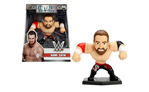 NEW 4'' JADA TOYS ACTION FIGURE COLLECTION - WWE SAMI ZAYN (M206) Action Figures By Jada Toys by ACTION FIGURE By JadaToys