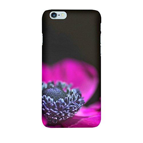 iPhone 6/6S Coque photo - purple Flower