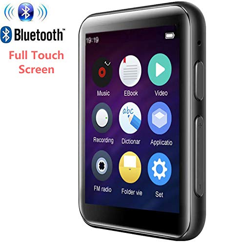 MP3 Player Bluetooth4.2 with 2.5 inch Full