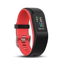 "Garmin 010-01789-02 Vivosport Smartwatch, Small/Medium, Fuchsia Focus, 0.9"""