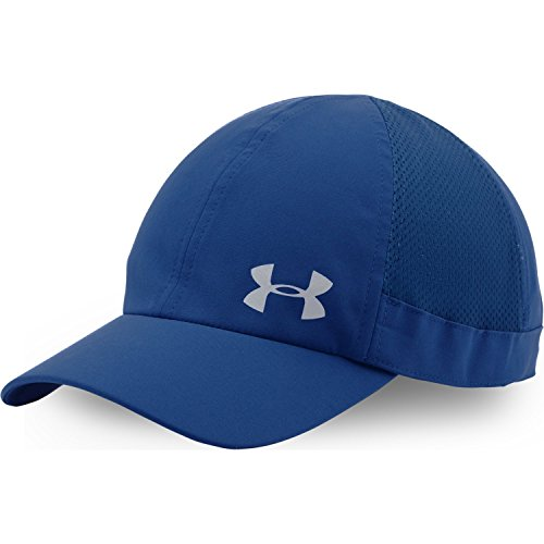 Under Armour Women's Fly Fast Cap with side mesh panels (Cobalt)
