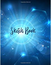"""Sketch Book: 109 Pages, 8.5"""" x 11"""" 