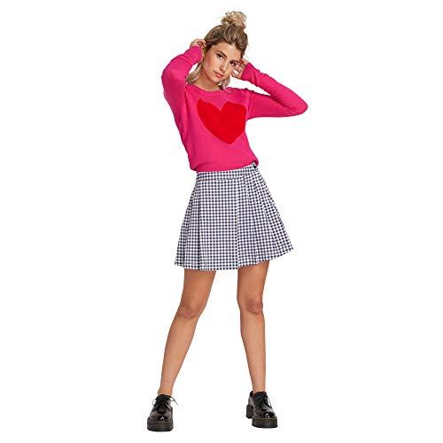 Volcom Women's Georgia May Jagger Frochickie High Waist Pleated Mini Skirt - Volcom Mini Skirt