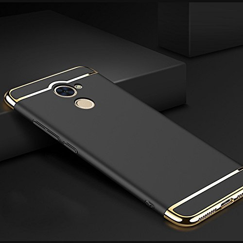 Amazon com: Huawei Y7 Prime Case, Luxury Removable 3 in 1 Hard