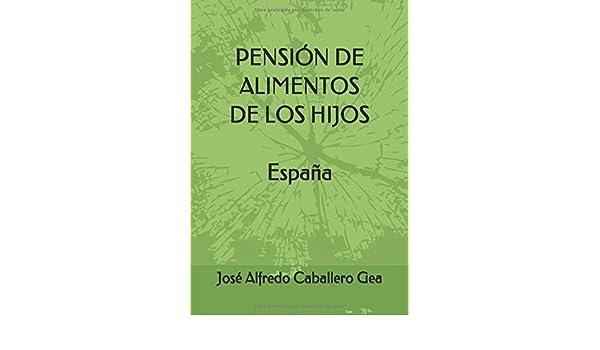 PENSIÓN DE ALIMENTOS DE LOS HIJOS. ESPAÑA: Amazon.es: Caballero Gea, José Alfredo: Libros