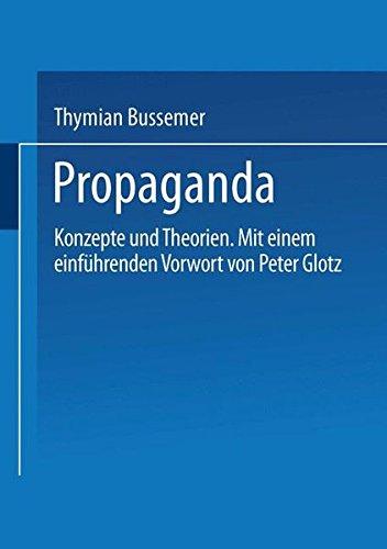 Propaganda: Konzepte und Theorien