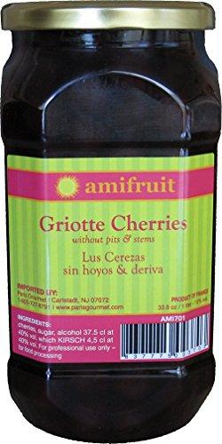 Kirsch Brandy - Amifruit Cherries in Kirsch 33.8 oz