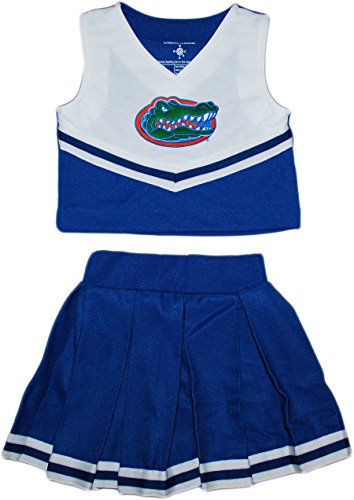 University of Florida Gators Toddler and Youth 2-Piece Cheerleader Dress]()