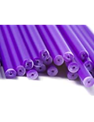 X13 000 89mm X 4mm Purple Plastic Lollipop Sticks Bulk Wholesale By Loypack