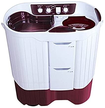 Godrej 8 kg Semi-Automatic Top Loading Washing Machine (WS Edge Pro 800 PS, Metallic Red)