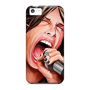 Apple Iphone 5c FOA12721zjGJ Provide Private Custom Colorful Aerosmith Band Pictures High Quality Hard Phone Case -LavernaCooney