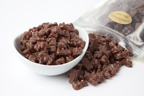 Milk Chocolate Covered Gummy Bears (1 Pound Bag)