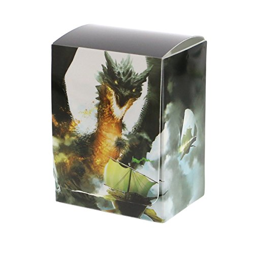(1) Max Protection Ambush Design Deck Armor Trading Card Deck Box Holder Fits 80 Sleeved Cards with Free Index Divider Board for Magic the Gathering, Pokemon, World of Warcraft, Kaijudo Duel Masters, Yu-Gi-Oh!, and Cardfight Vanguard Cards