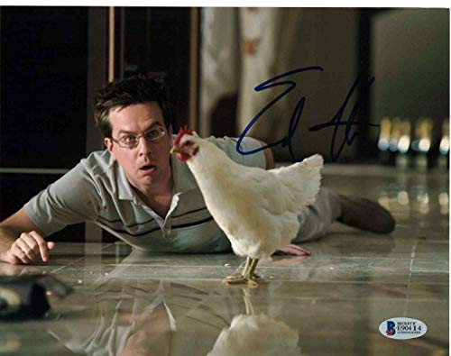 Photo 8x10 Ed Autographed - Ed Helms Autographed Signed 8x10 Photo The Hangover Beckett Authentic Signature Coa B