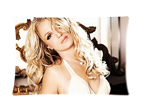 Hot New Pillowcase Custom Britney Spears Pillow Case 20x30 Inch Two - Spears Cover Britney