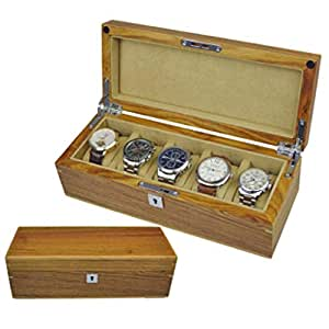Solid Wood Watch Box Wooden 5 Table Rosewood Rosewood Wooden Watch Storage Box Khaki