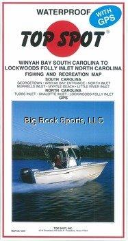 (Top Spot Map N237 Winyah Bay S.C. to)