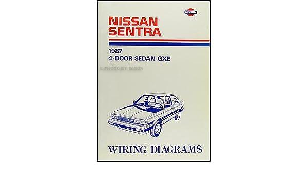 1987 nissan sentra wiring diagram manual original: nissan: amazon com: books