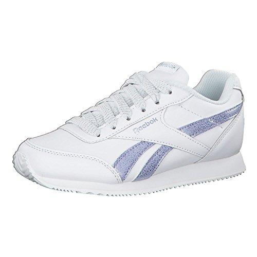 Reebok Damen Royal Cljog 2 Fitnessschuhe, Mehrfarbig (Pastel/White/Frozen Lilac/Silver 000)