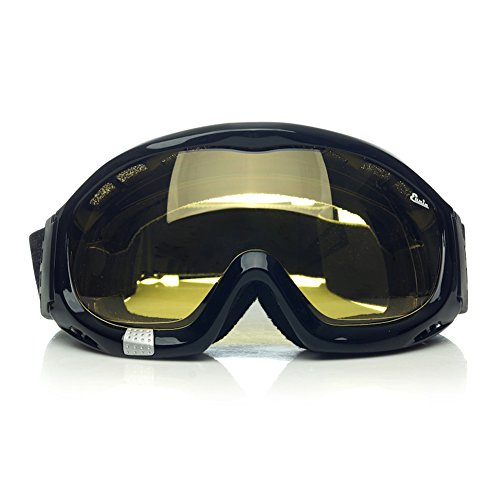 Motorcycle Goggles Over Glasses - 3