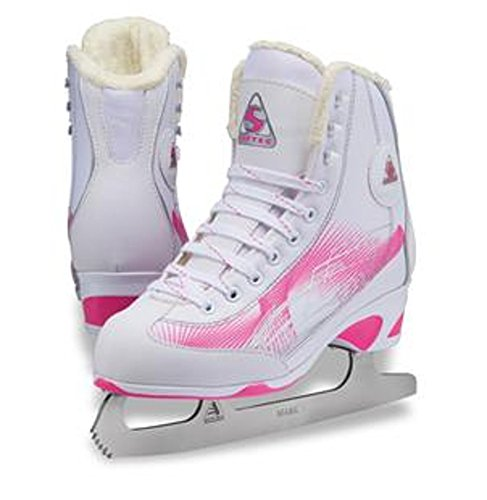 Jackson Ultima Figure Skates - Rave Women's RV2000 Pink Width Medium (Size 6)