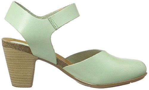 Jonny'sZaltana - Sandalias con pulsera para mujer Verde (Grün mint)