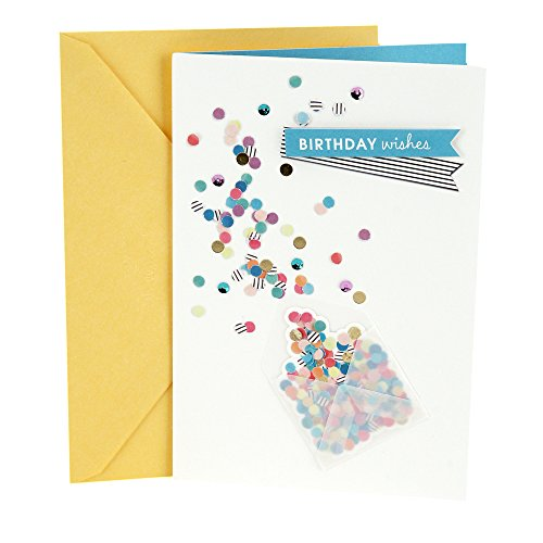 Hallmark Birthday Greeting Card for Her (Envelope with Confetti)