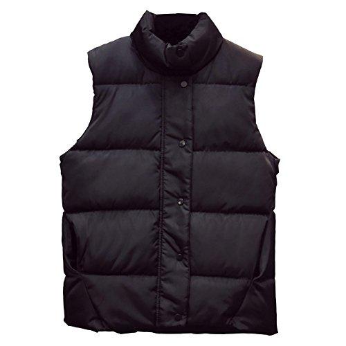 明示的に緊急宙返りCozy Maker(C&M)べスト レディース 中綿ベスト 袖なし 立ち襟 軽量 ポケット付き 無地 防寒 暖かい カジュアル シンプル ノースリーブ 通勤 通学 大きいサイズ アウター トップス 厚手