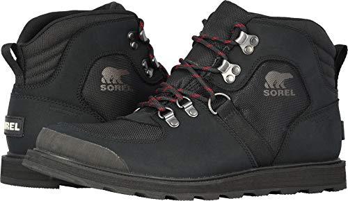 SOREL  Men's Madson¿ Sport Hiker Waterproof Black 10.5 D US -