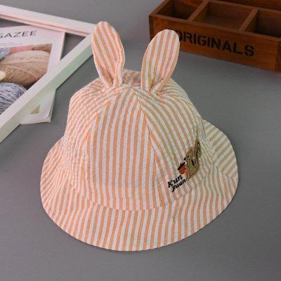 ヒューズ列車ずらす男子の帽子&キャップ子供の漁師の帽子、子供用のストライプの帽子は、男の子と女の子、リスポットキャップ、子供たちの春と夏の間
