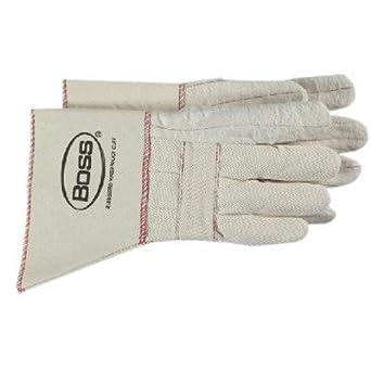 75325f0b323 Amazon.com: Gauntlet Cuff Hot Mill Gloves - heavy weight hot mill glove  w/gauntlet [Set of 12]: Industrial & Scientific