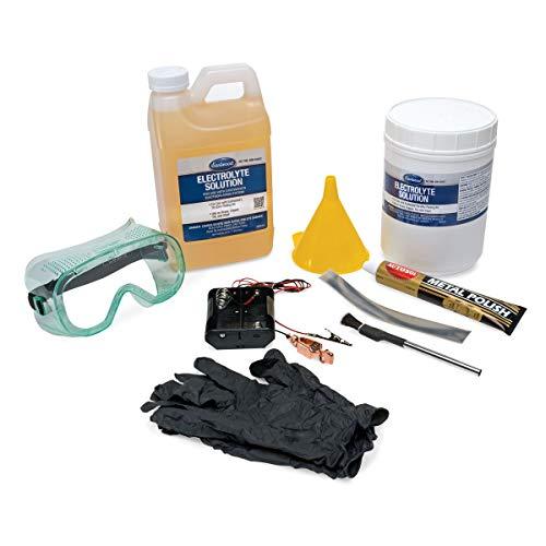 Eastwood Anti Corrosion Protective Electroplating System Tin Zinc with 100 g Polish Tube