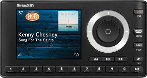 (SiriusXM SXPL1V1 Onyx Plus Satellite Radio with Vehicle Kit with Free 3 Months Satellite and Streaming Service)