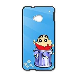 Crayon Shin chan HTC One M7 Cell Phone Case Black N3G8DY