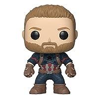 Deals on Funko POP! Marvel: Avengers Infinity War Captain America
