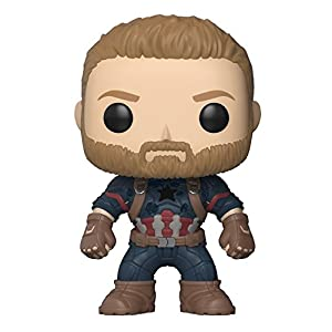 Funko Pop Marvel: Avengers Infinity War-Captain America Collectible Figure, Multicolor